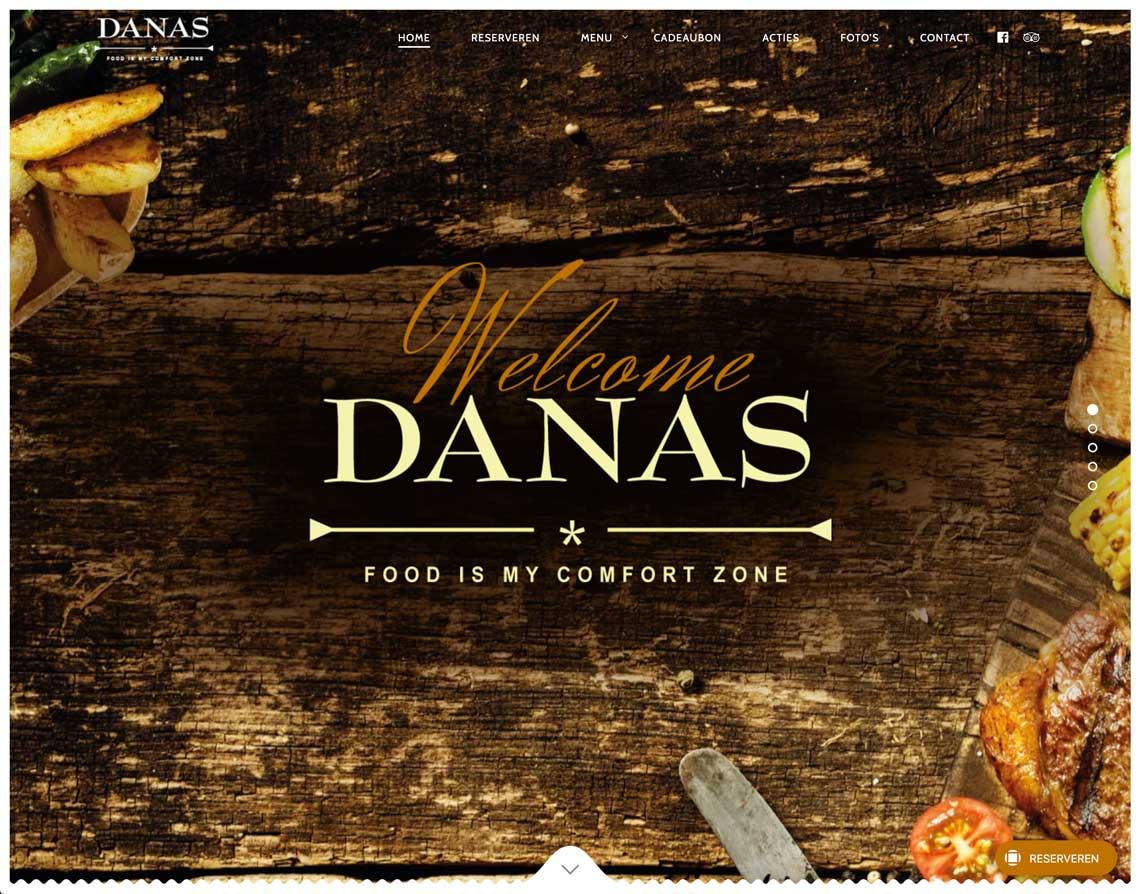 Maatwerk Website Geleen Danas