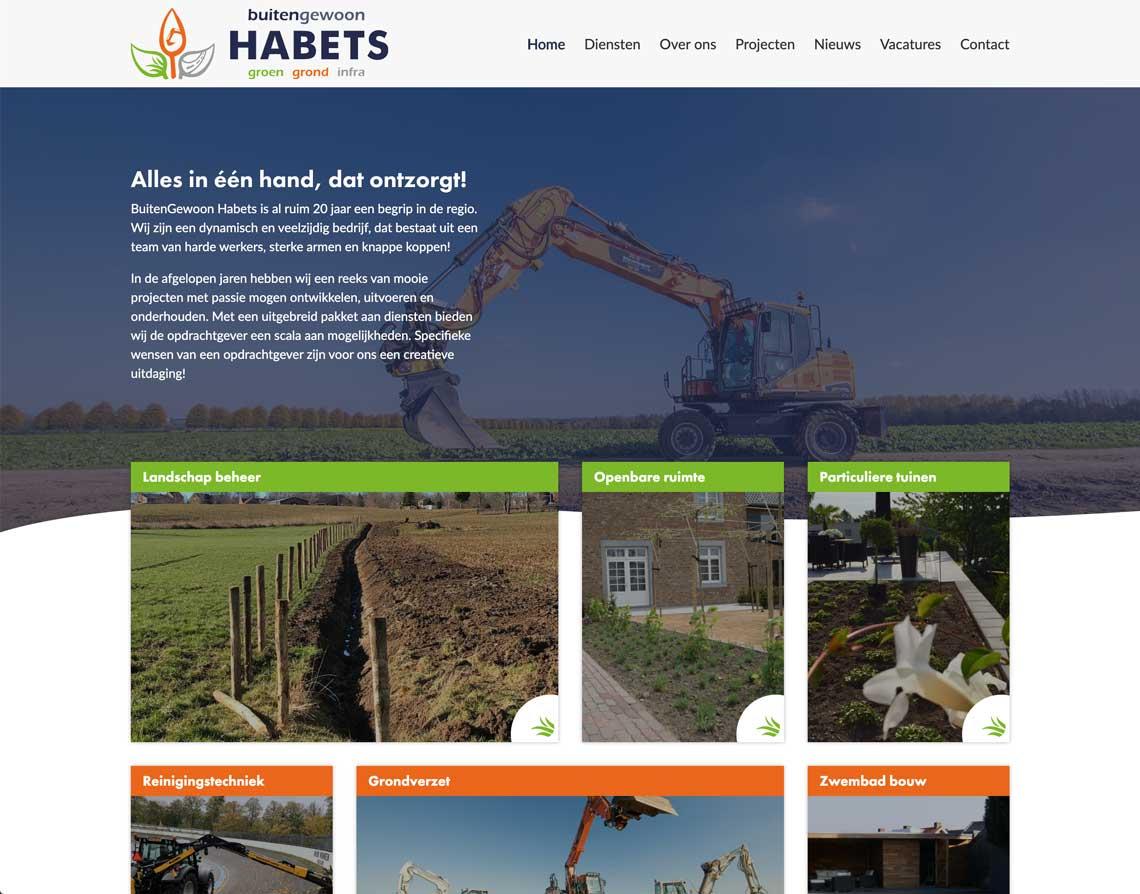 Maatwerk Website Maastricht Buitengewoon Habets