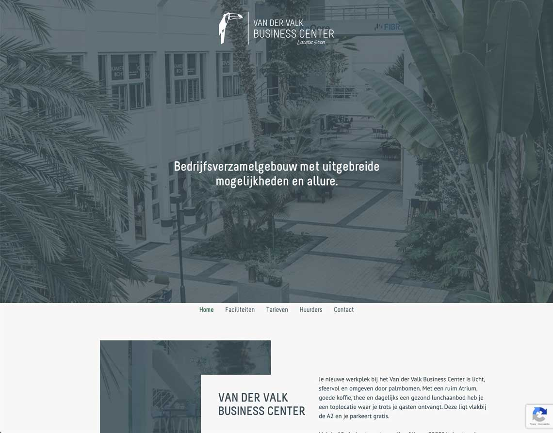 Maatwerk website Urmond Van Der Valk