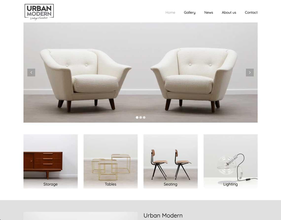 Webdesign bureau Brunssum Urban Modern