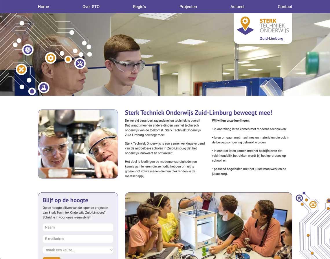 webdesign bureau STO Zuid Limburg