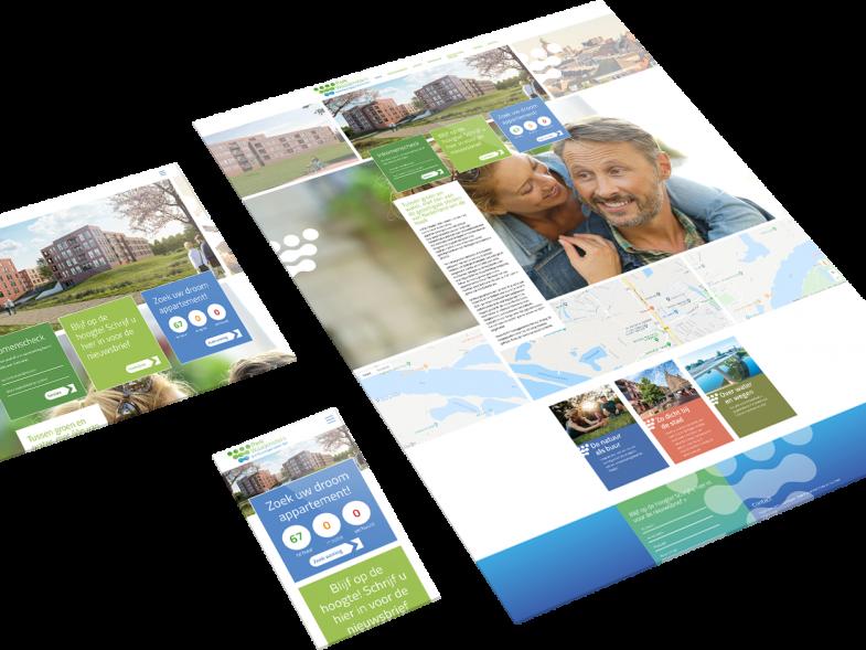 responsive website mockup park waaijenstein