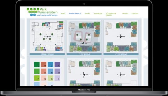 Park Waaijenstein Kavelkaart MacBook Pro