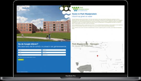 Responsive Maatwerk Website voor Park Waaijenstein
