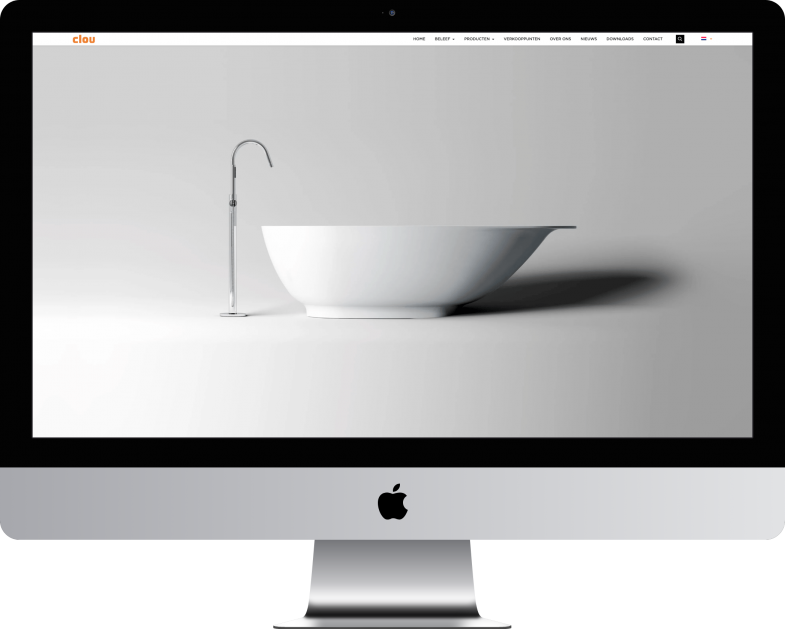 Maatwerk website voor Clue