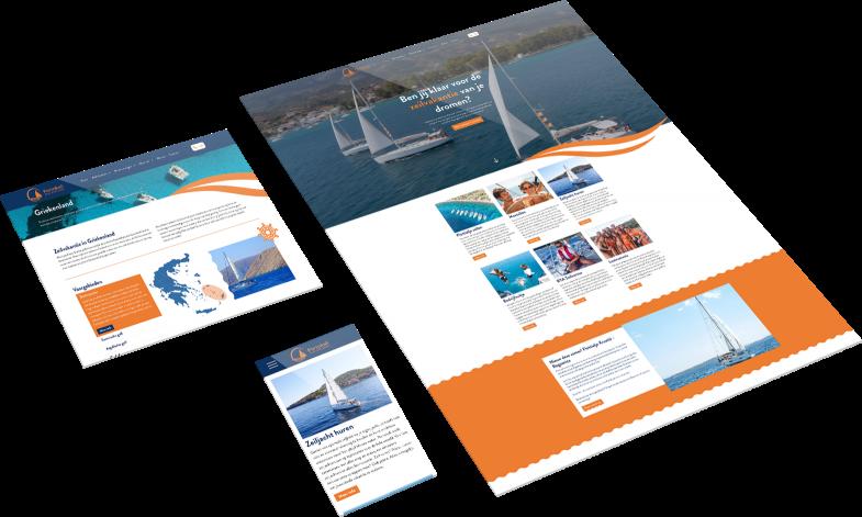 Responsive maatwerk website voor portokali almere