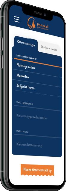 Responsive Maatwerk Website voor Portokali, Almere